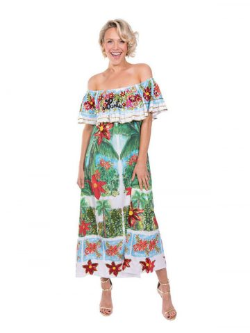 The Hawaiian OTS Dress