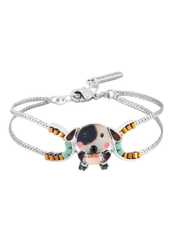 Such a cute collection from Taratata. Named Puppy, this collection depicts a black and white dog with a black patch over one eye. A comic design that everyone will love.