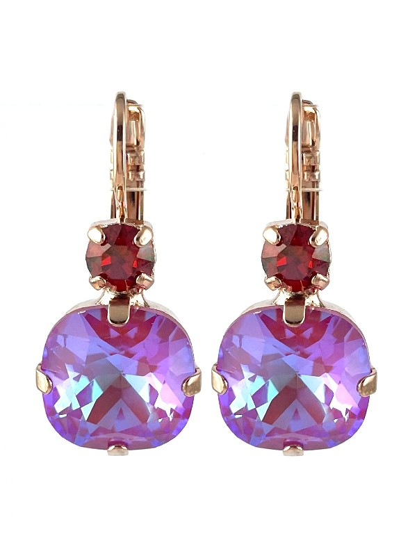 Mariana has featured fuchsia pink, ripe mango and fire engine red Swarovski crystals in this vibrant collection, named Sorbet Delight.